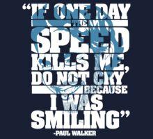 Paul Walker Tribute shirt by Ryan Jay Cruz