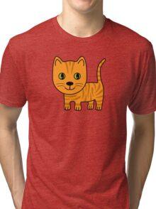 Ginger Tabby Tri-blend T-Shirt