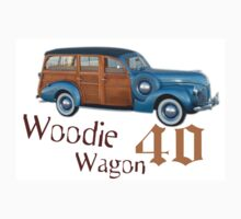 Woodie Wagon 40 T-shirt Kids Tee