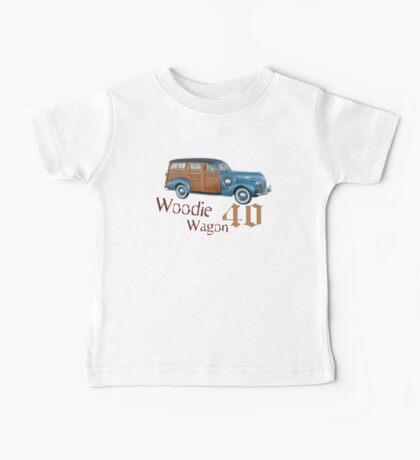 Woodie Wagon 40 T-shirt Baby Tee