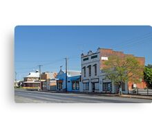 Top Town #3 Canvas Print