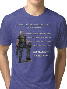 Enlist in The Colonial Marines Tri-blend T-Shirt
