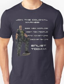 Enlist in The Colonial Marines T-Shirt
