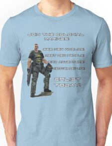 Enlist in The Colonial Marines Unisex T-Shirt