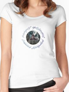 The Ring Women's Fitted Scoop T-Shirt