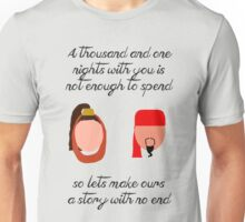 Jafar and Sherrezade-A Thousand and One Nights Unisex T-Shirt