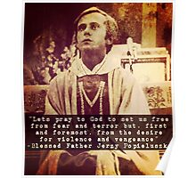 Blessed Father Jerzy Popieluszko Poster