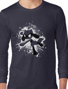 Riolu Splatter Long Sleeve T-Shirt