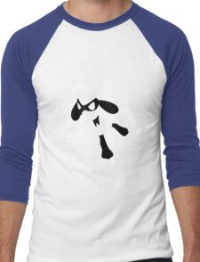 Riolu Splatter Men's Baseball ¾ T-Shirt