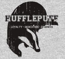 Hufflepuff (black) by K- kipper