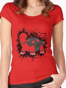 Torkoal Splatter Women's Fitted Scoop T-Shirt