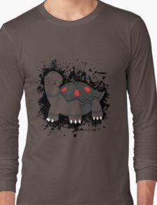 Torkoal Splatter Long Sleeve T-Shirt