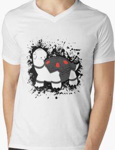 Torkoal Splatter Mens V-Neck T-Shirt