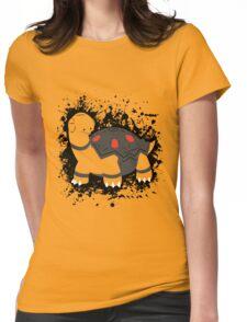 Torkoal Splatter Womens Fitted T-Shirt