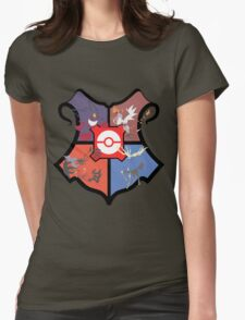 Pokemon x Hogwarts Womens Fitted T-Shirt