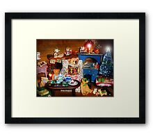 Story Hour Framed Print