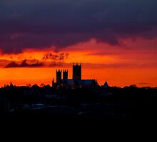 Blood Red over Lincoln by Ian Richardson