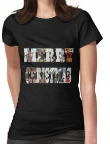 Community Clay Christmas Shirt Womens Fitted T-Shirt