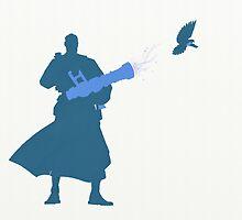 Blu Medic Silhouette  by lewisB
