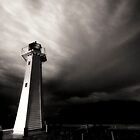 A Dark and Stormy Lighthouse by Lanny Edey