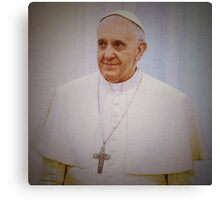 Pope Francis  Canvas Print
