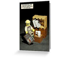 Recently Retired Greeting Card