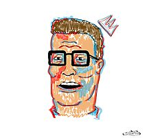 King Hank Hill Photographic Print