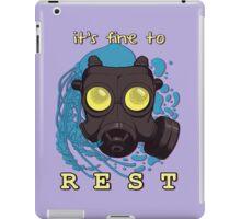 It's fine to rest. iPad Case/Skin