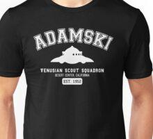 Adamski UFO Flying Saucer Squadron Unisex T-Shirt