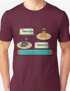 Doctor who pokemon battle T-Shirt