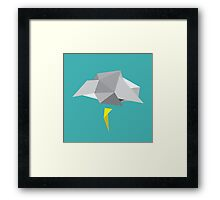 A Cloudy Day in April Framed Print