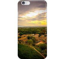 Carcassonne Sunset iPhone Case/Skin