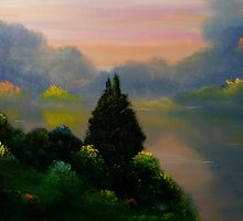 Red Hills Lake by David Snider