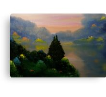 Red Hills Lake Canvas Print