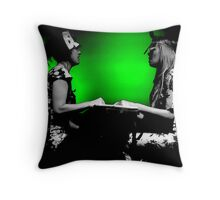 Chicks on Speed Throw Pillow