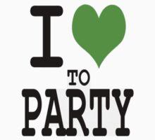 I Love To Party by clubbers06