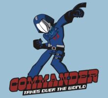 Commander Vs The World by Crocktees