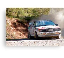 Audi Rally Canvas Print