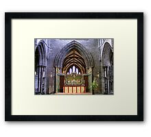 Altar  in Chester Cathedral, Framed Print