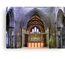 Altar  in Chester Cathedral, Canvas Print