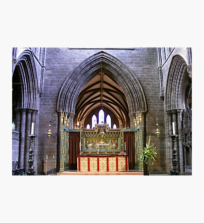 Altar  in Chester Cathedral, Photographic Print