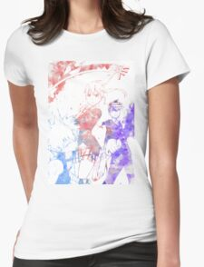 Soul Eater Trio Womens Fitted T-Shirt
