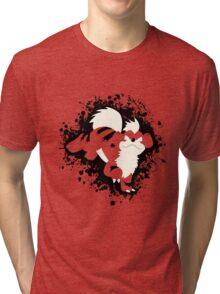 Growlithe Splatter Tri-blend T-Shirt