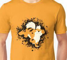 Growlithe Splatter Unisex T-Shirt