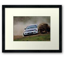 Rallycross Honda Framed Print