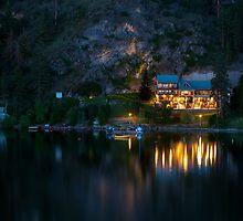 Illahee Inn on Kalamalka Lake by Michael Russell