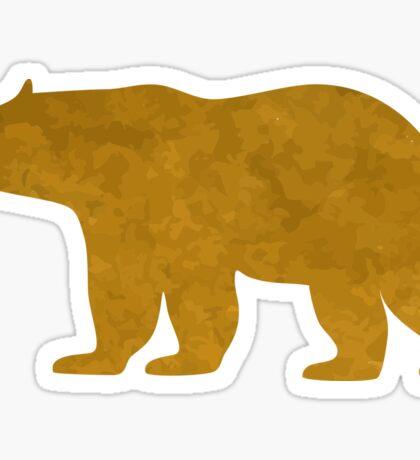 Golden bears Sticker
