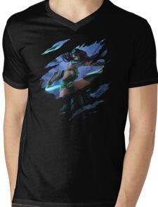 Akali Mens V-Neck T-Shirt