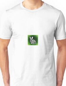 Bunny Abstract art Unisex T-Shirt