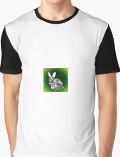 Bunny Abstract art Graphic T-Shirt